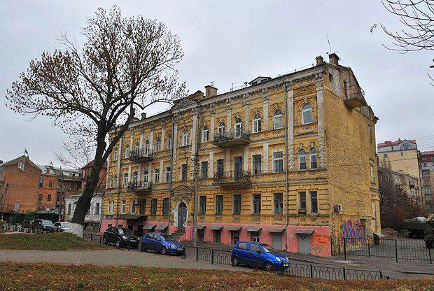 Дом, в котором живет Дина, где жил Григорий Мачтет, Григорий Котовский и плеяда академиков-физиков