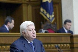 Пшонка: Ющенко согласился сдать кровь