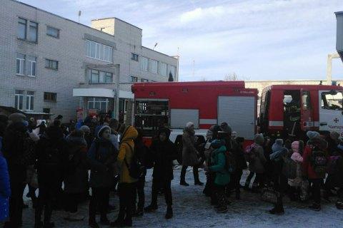 Пожар в школе в Чигирине успели потушить до приезда пожарных
