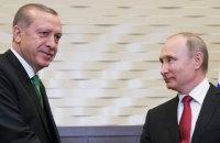 Ердоган перед приїздом Зеленського в Туреччину провів телефонну розмову з Путіним