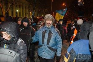 Самооборона Майдана взяла под контроль правительственный квартал, - Парубий