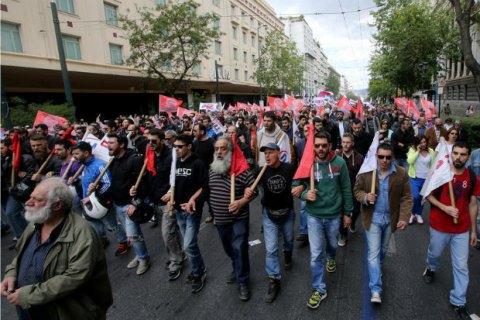 У Греції почався загальний дводенний страйк