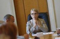 Тимошенко призвала парламент продлить мораторий на продажу земли