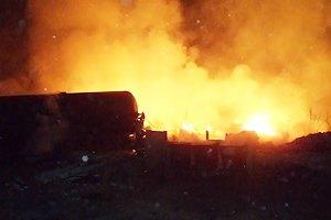 В России растет число пострадавших в ужасном взрыве на железной дороге