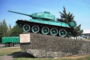 Луганские сепаратисты угнали танк