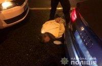 У Києві сталася поліцейська погоня зі стріляниною