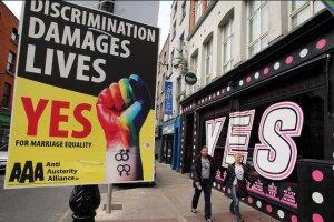 Ірландці підтримали легалізацію одностатевих шлюбів