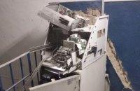В Харькове взорвали и обчистили очередной банкомат