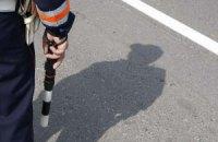 Мотоциклист сбил гаишника на Крещатике