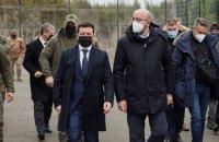 Глава Євроради пообіцяв Зеленському взяти участь у Кримській платформі