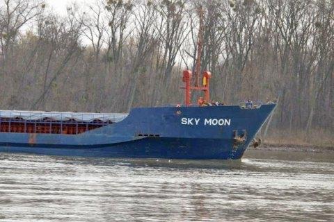 """Судно """"Sky Moon"""", которое конфисковали за посещение порта в Крыму, передадут в собственность ВМС Украины"""