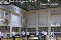 В Японии создали робота-баскетболиста, который забрасывает 3-очковые