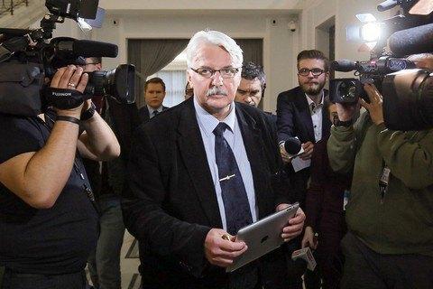 Ващиковський назвав умовою поліпшення відносин з РФ повернення до Польщі уламків літака Качинського
