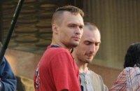 Участника акции под Украинским домом арестовала милиция