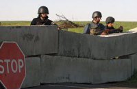 В Славянске уничтожили очередной блокпост сепаратистов