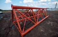 В Селидово начали строительство телевышки для трансляции на ОРДО