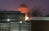 У Росії загорівся пороховий завод, є постраждалі