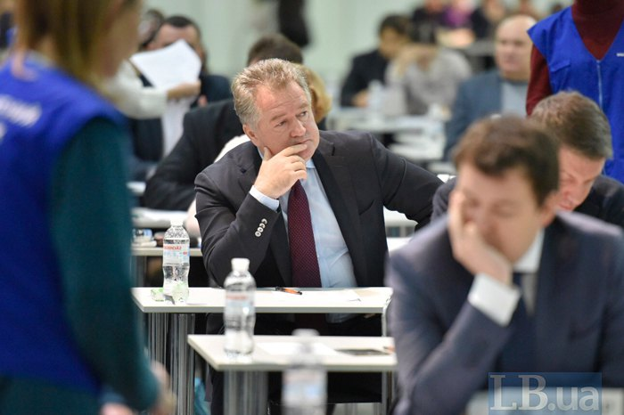 Голова ВРП Ігор Бенедисюк перед початком тестування