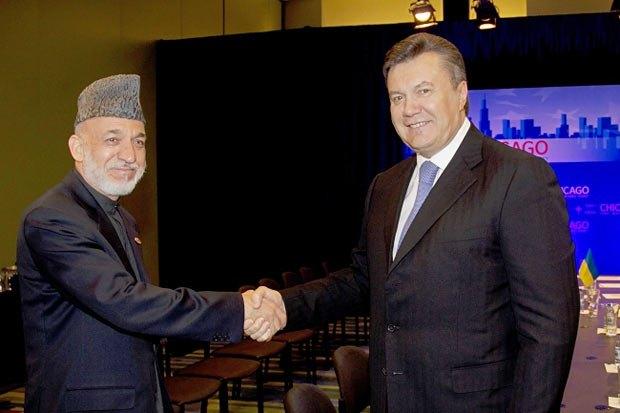 Переговоры с президентом Афганистана весьма вдохновили украинское руководство