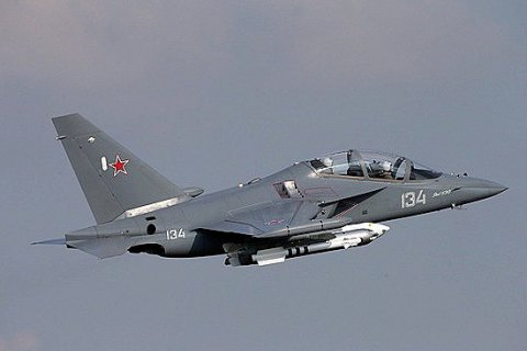 В России разбился военный самолет Як-130