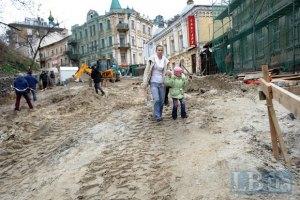 Прокуратура проверяет законность сноса зданий на Андреевском спуске