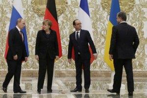 Зустріч Путіна, Порошенка, Меркель і Олланда можлива наступного тижня