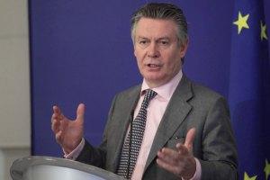 В Киев прилетит еврокомиссар по торговле