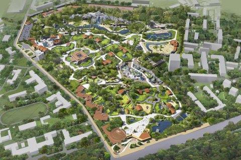 Власти Киева показали план реконструкции столичного зоопарка