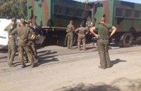 Колонна Нацгвардии из Одессы попала в ДТП по дороге в Киев