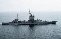 """Американський крейсер """"Велла Галф"""" увійшов у Чорне море"""
