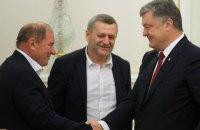 Порошенко встретился с Умеровым и Чийгозом