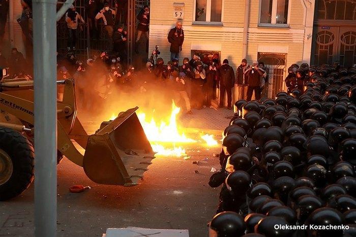 Протесты на Банковой