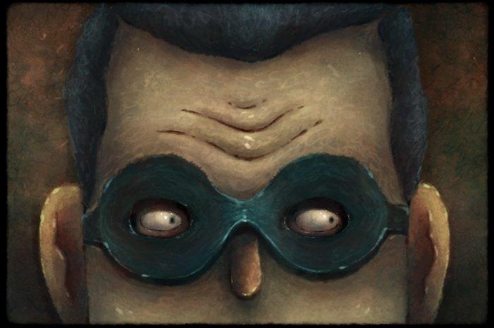 """Кадр из анимации """"Элювиум –регенеративное существо"""""""