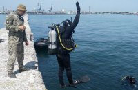 В районе морпорта Одессы ВМС провели противодиверсионные учения