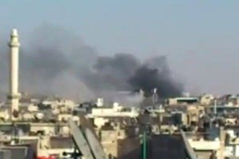 За сутки ВВС Сирии нанесли 140 ударов по Алеппо: 46 погибших, 230 раненых