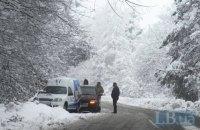 Из-за непогоды в Киевской области произошло 78 ДТП