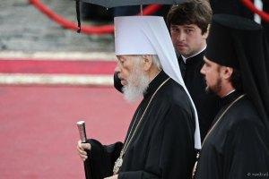 Митрополит Владимир обратился к людям, захватившим Воскресенский храм