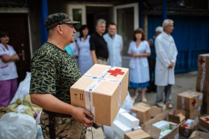 Киевский госпиталь вылечил более 1000 бойцов АТО