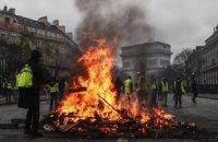 Франция намерена ввести чрезвычайное положение из-за топливных протестов