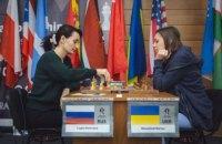 Музичук програла в півфіналі чемпіонату світу з шахів