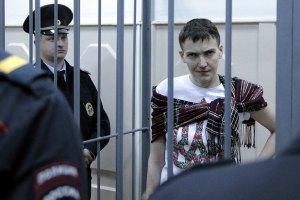Російські правозахисники запевняють, що Савченко нормально харчується і важить 67 кг