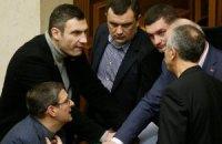 Кличко пожаловался, что Янукович не ведет переговоры с оппозицией
