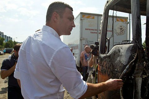 """Кличко обещает привлечь к ответственности тех, кто """"крышует"""" незаконные МАФы"""