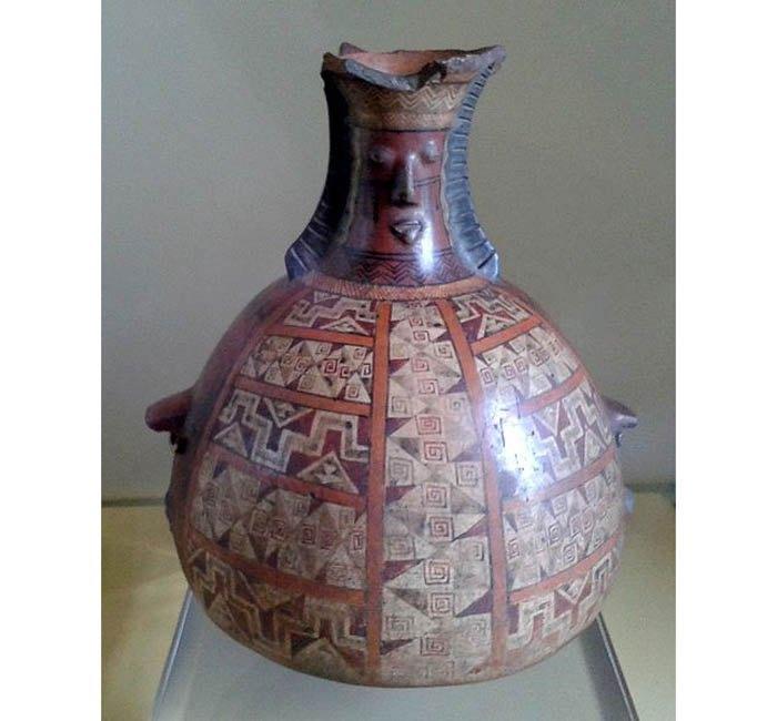 Инкская ваза, ок. 1430–1532 н.э.