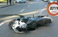 У Києві в страшній ДТП загинули двоє людей на мотоциклі