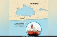 У берегов Африки исчез танкер с 22 индийскими моряками на борту