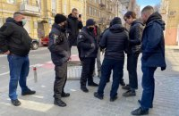 На чотирьох учасників мітингу під ОПУ склали адмінпротоколи (оновлено)
