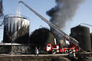 Яценюк вичитав міністра екології за невідвідування місця пожежі під Васильковом (оновлено)