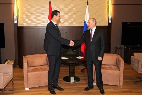 """Путин и Асад договорились о """"продолжении борьбы с терроризмом"""""""
