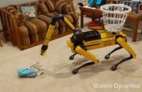 Boston Dynamics навчила робособак прибирати, садити квіти та писати крейдою на асфальті
